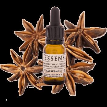 Högkoncentrerad Stjärnanis essens för lössnus och portionssnus från Tobakskemi.