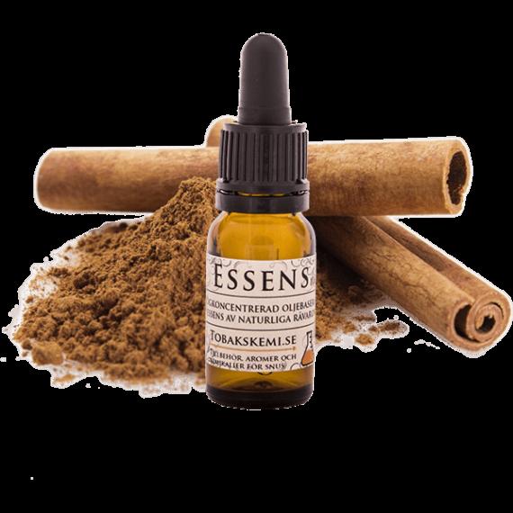 Högkoncentrerad Kanel essens för lössnus och portionssnus från Tobakskemi.