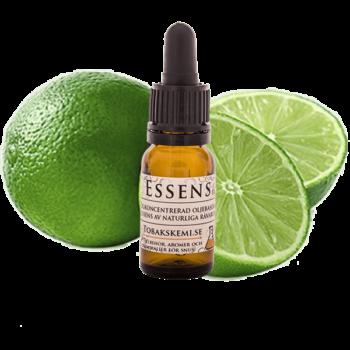 Högkoncentrerad Lime essens för lössnus och portionssnus från Tobakskemi.