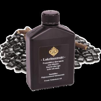 Högkoncentrerad Lakritsextrakt för att smaksätta lössnus från Tobakskemi.