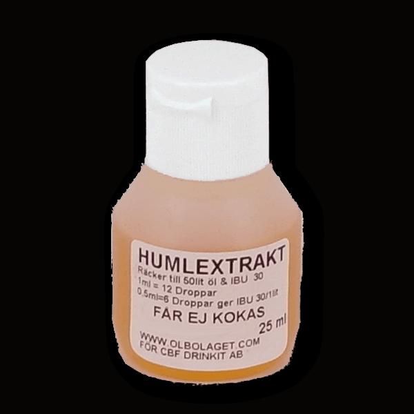 Humlextrakt 25ml. Prova dig fram vilken humle som passar bäst för just ditt snus. Droppa några droppar i varje dosa. - Beställ från Tobakskemi.se