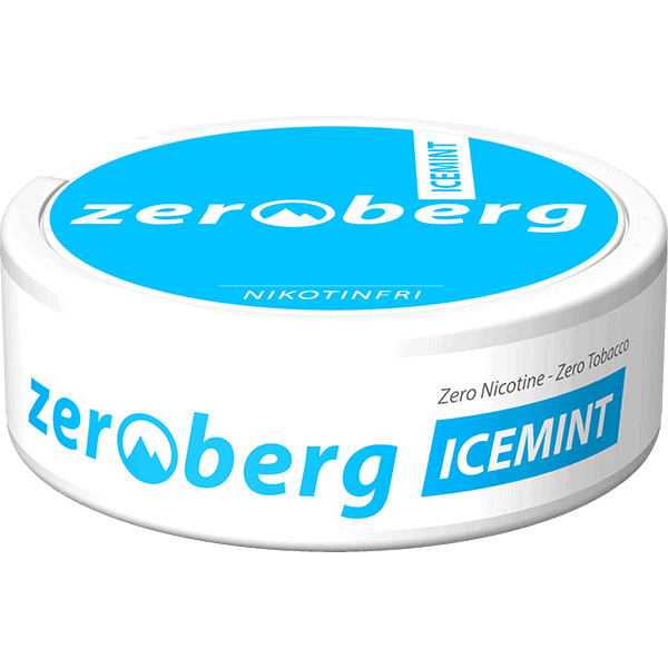 Zeroberg Icemint Nikotinfritt